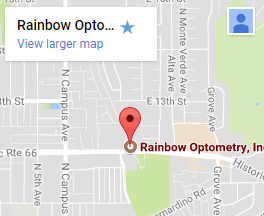 Rainbow Optometry Google Map